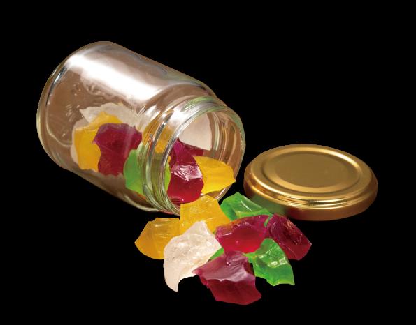 ハロウィンフェア-2021- 琥珀糖ハロウィン花水晶